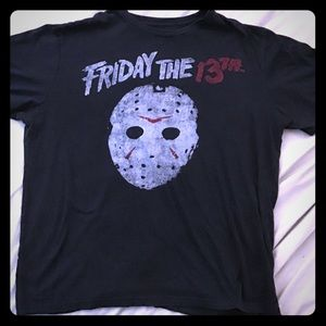 Men's Friday The 13th T-Shirt | Size XXL | Horror